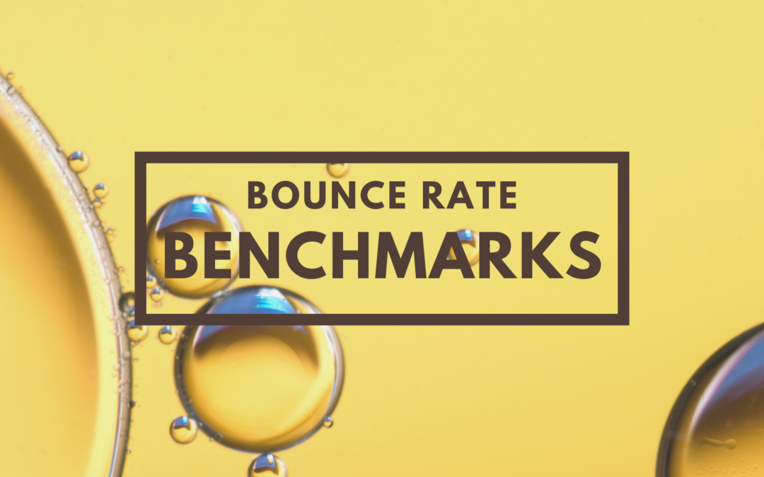 Industry Bounce Rate Benchmarks